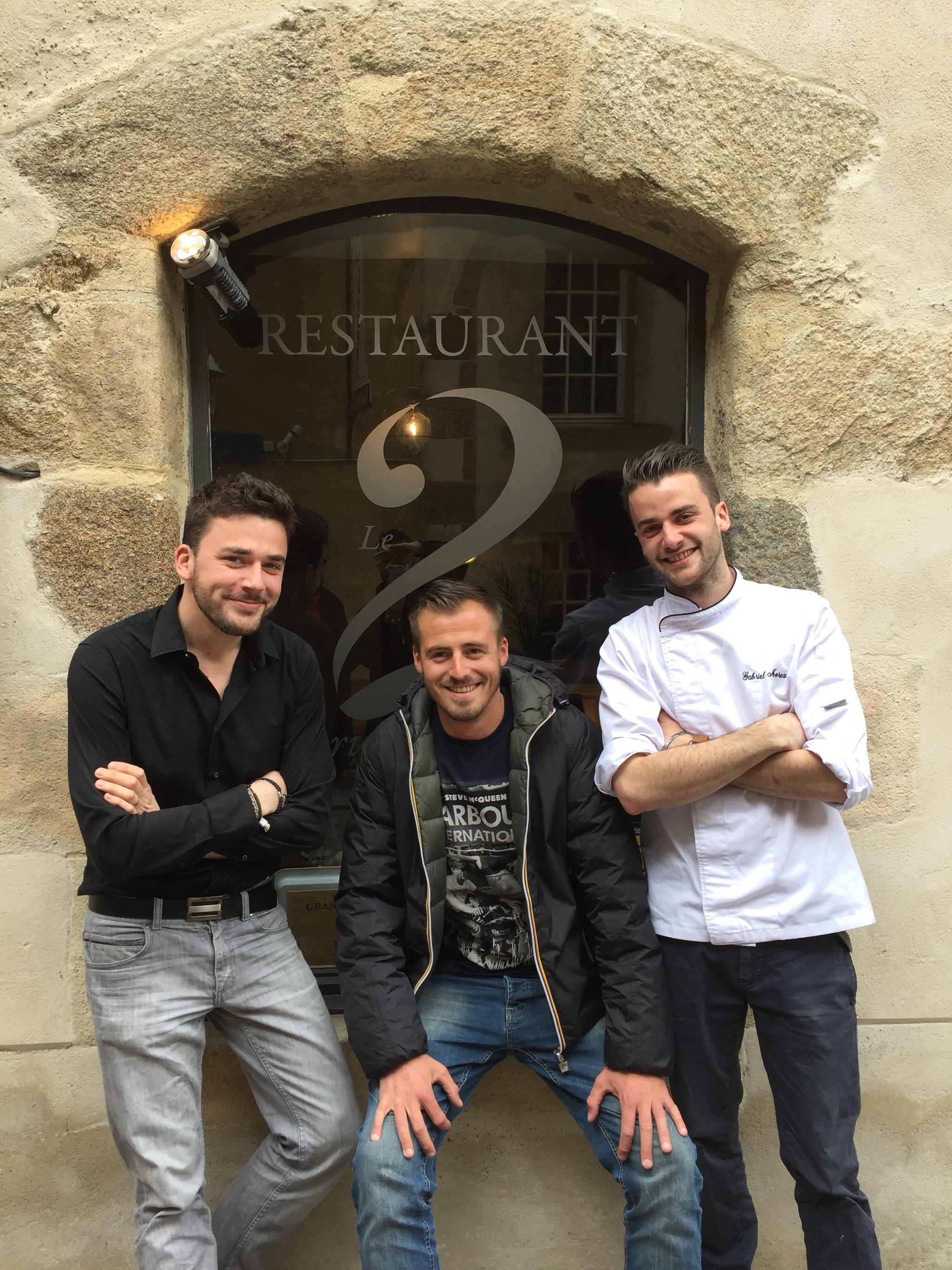 Pierre Eon et l'équipe du 2 rue des Dames à Rennes